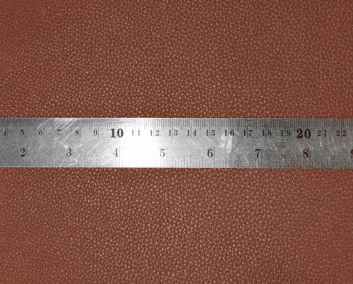 pb306t Brown Faux Leather Skin 3D Box Square Sofa Seat Cushion Cover*Custom Size