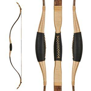 Traditionnel Tir à l'arc Recourbé Arc Mongol Style Horsebow chasse cible 25-40 LB