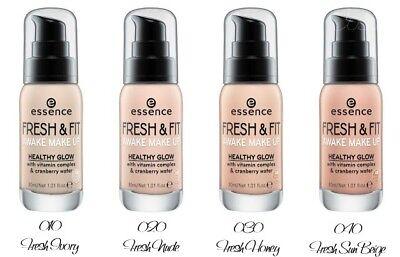 Essence Fresh Fit Awake Make Up Foundation Ebay
