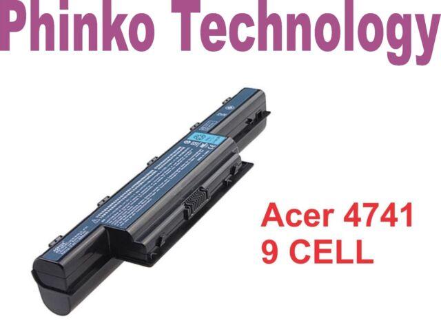 9 Cell Battery for Acer Aspire 7560 4741 5741G 5251 5733 5736 5742ZG 5750G 7551G