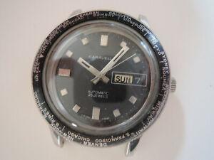 Montre-plongee-CARAVELLE-automatic-vintage-diver-watch-as-bulova