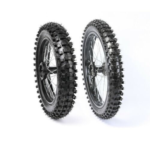 Front 1.6*17 Rear 1.85x14 15mm Axle Wheel Rim Tire Tyre for CRF70//50 Pit Bike US