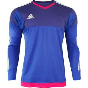 Details zu adidas adizero GK Torwarttrikot Langarm blau Trikot Jersey Gr. XS S M L XXL