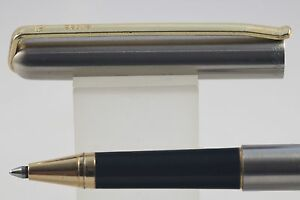 HonnêTeté Vintage Elysee No. 60 Flighter Deluxe Rollerball Pen With Rolled Gold Trim