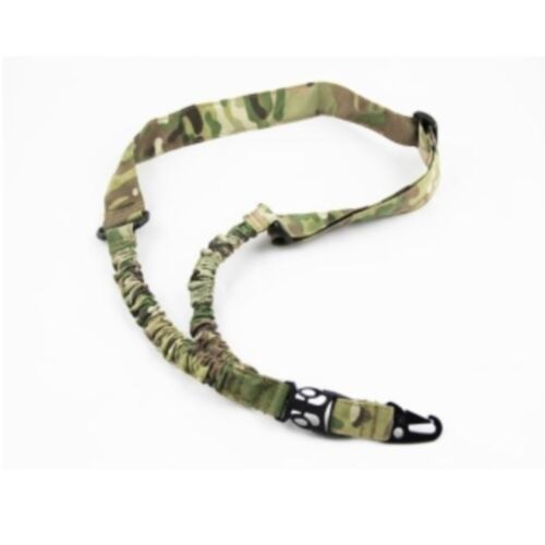 ACQM Military Single Point Tactical Sling - MultiCam
