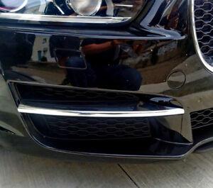 Jaguar Xe Chrome Front Bumper Lower Grille Fin X 2 Ebay