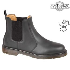 Mens Leather Chelsea Boots Dealer Work