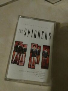 Vintage-The-Spinners-The-Very-Best-Cassette-Tape-Soul-Music