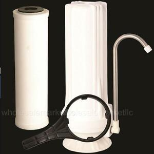 Countertop Ceramic Water Filter Home Purifier with Cartridge & all Accessories