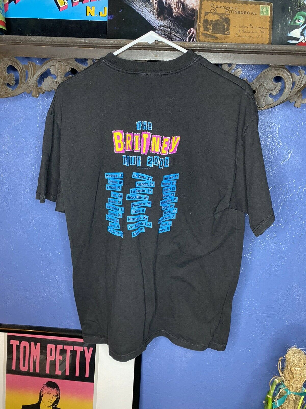 Vintage Britney Spears T Shirt 2001 The Britney T… - image 3