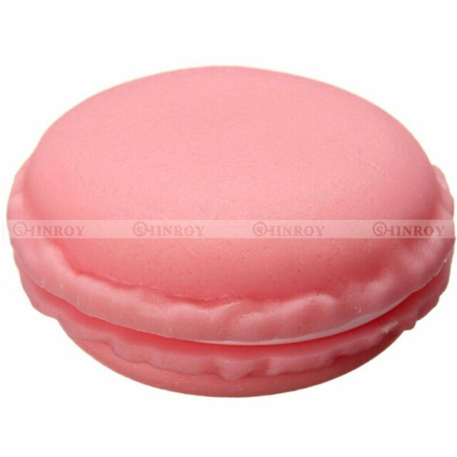 Cute Mini Macarons Box Candy Color For Jewelry Earring Box Outing Storage Boxes