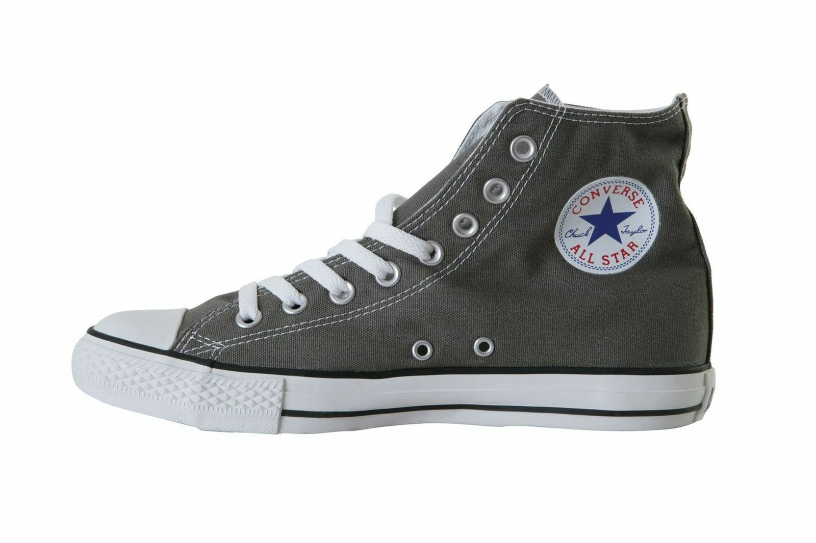 CONVERSE SEASNL ALL STAR CHUCK TAYLOR HI Homme Chaussures CHARCOAL AJ793 Taille 12 NEW