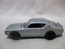 NISSAN SKYLINE GT-R KPGC110 Silver1:64 Scale Targa TACCAR Diecast Model Car