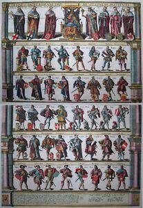 Ordines Sacri Romani Imp-stands Ordre, Riche Stands-ortelius 1603-original-afficher Le Titre D'origine Ol6tvqkc-10111454-383713252