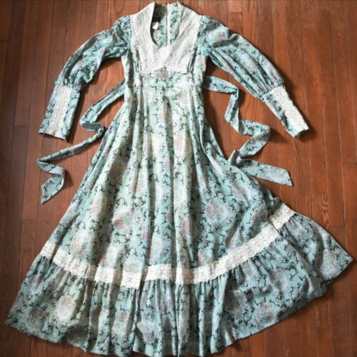 Gunne Sax Black Label Dress Size 7 - image 1