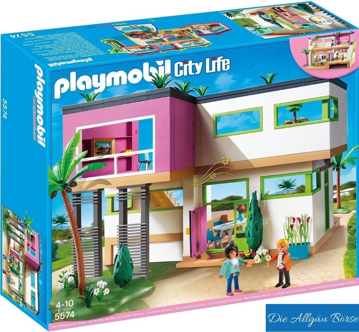 Playmobil 5574 Luxusvilla City Life Villa Urlaub selten Neu OVP ...