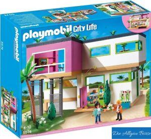 Détails sur Playmobil 5574 Moderne Villa de Luxe City Life Maison Vacances  Rare Neuf Scellé