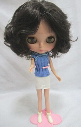 """Takara 12/"""" Neo Blythe Tanned Skin Short Hair Nude Doll from Factory TBO313-2"""