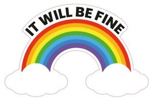 Rainbow-sticker-vinyl-It-will-be-fine-smile-hope-window-drawing-children-deco