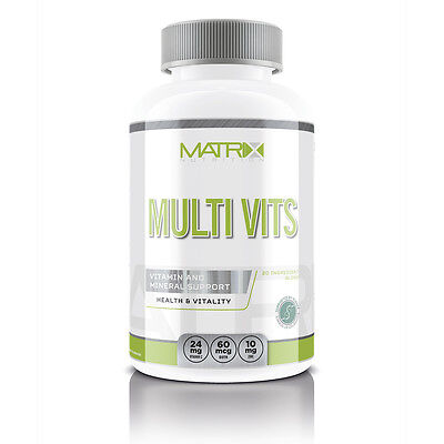 MATRIX NUTRITION - MULTI VITS - HEALTH & RECOVERY - ESSENTIAL VITAMINS - X120