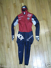 RARE NIKE Team USA Swiftskin Skating skinsuit SpeedSkating Full body speedsuit