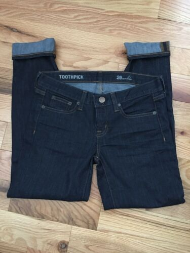 Fitted Wash Jeans Dark Taille Skinny J Cheville Dents Cure Crew 26 Denim P8nqUHAw