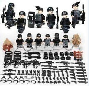 LEGO kompatibel, DE NEU Minifiguren SWAT Spezialkräfte