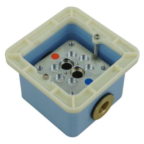 Welfenstein Standarmatur freistehende Badewannen Montagebox Bodenmontage SA-VM