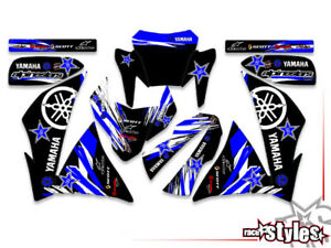Supermoto-Teile YAMAHA XT 660 R/X FULL Factory Racing DECORO DECAL ADESIVI KIT 2004-2015