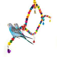 Vogelschaukel Spielzeug für Papagei Vogelkäfig Spielzeug