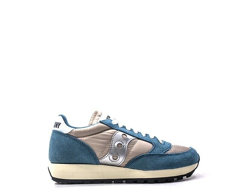Schuhe SAUCONY Frau Blau Stoff,Wildleder  S60368-67