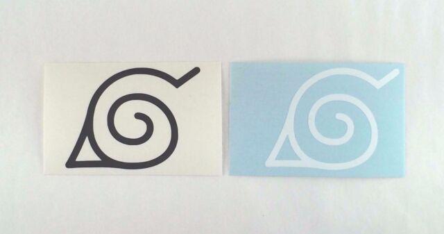 Anime Naruto Uzumaki Logo Vinyl Sticker Decal Self Adhesive Vinyl
