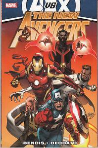 The-New-Avengers-by-Brian-Michael-Bendis-Volume-4-Marvel-Comics-TPB-AvsX-vr-nm