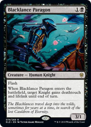 Throne of Eldraine Blacklance Paragon