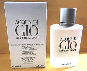 Acqua-Di-Gio-3-4-Oz-Men-Spray-Edt-Cologne-Giorgio-Armani-New-Authentic