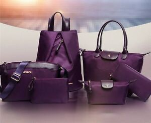 5pcs-set-High-Quality-Women-Handbag-purple