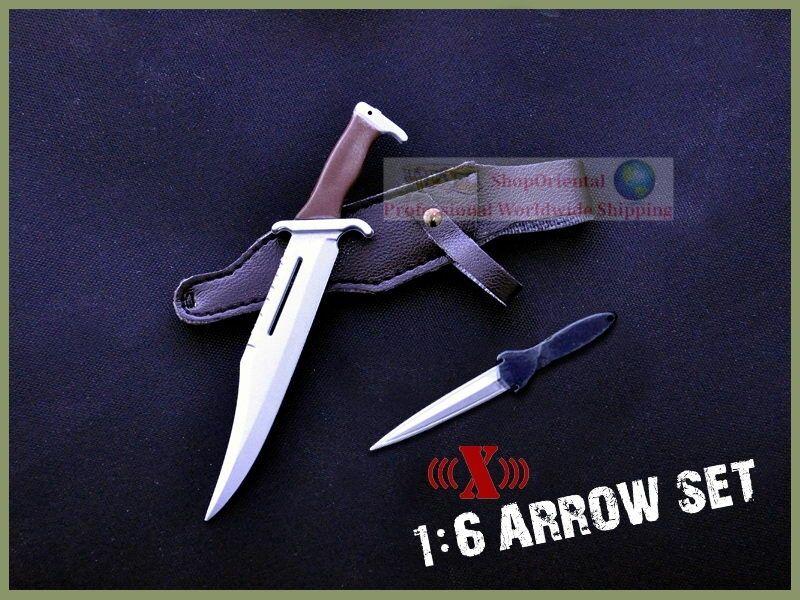 1 6 Scale Action Figure Figure Figure RAMBO STALLONE BOW ARROW KNIFE HOYT ARCHERY SET2 BOW_B+G c6dc2e