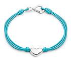 Design - Tribal Steel - Bracciale Di Cuoio Da Donna con cuore - Colori Assortiti