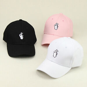 Fashion-Style-Girls-Boys-Finger-Baseball-Cap-Adjustable-Strapback-Trucker-Hats