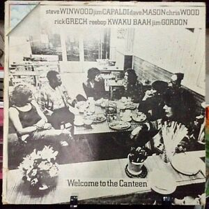 TRAFFIC-Welcome-To-The-Canteen-Album-Released-1971-Vinyl-Record-Collection-USA