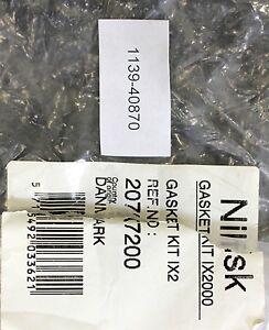 NILFISK-Gasket-KIT-IX2000-Dichtungskit-Part-No-20707200
