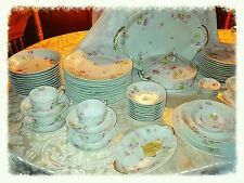 Theodore Haviland Limoges Schleiger 1038 Beautiful 95 Piece China Set