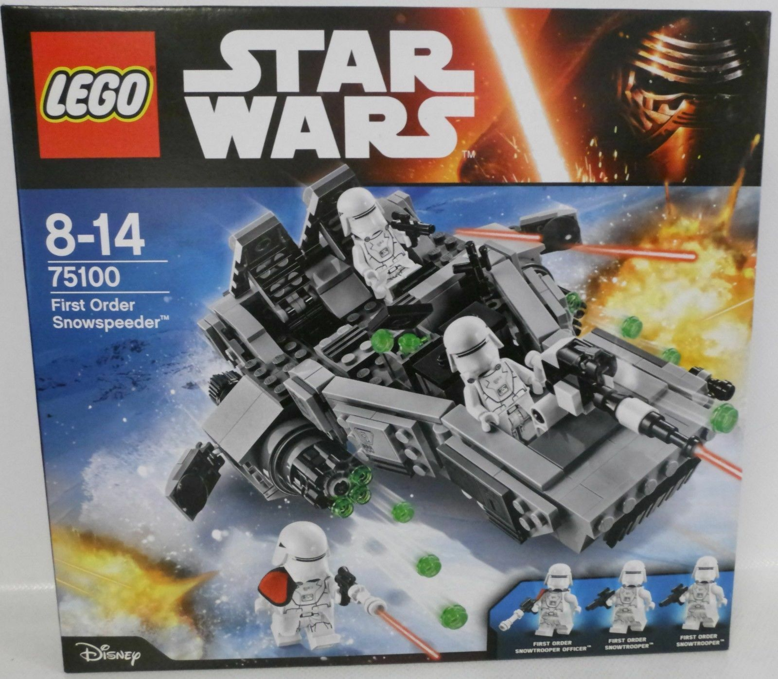 Lego Star Wars First Order Snowspeeder - 75100 - Neuf et scellé Sealed