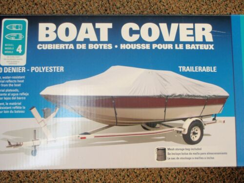 "BOAT COVER V-HULL RUNABOUTS LOW PROFILE 50-97341 BOATS 19FT TO 21FT 105/"" BEAM"