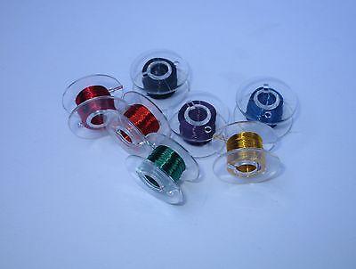 Kupferlackdraht Set 7 Spulen a10m //7 Farben Draht Modellbau Donau LD15-MIX