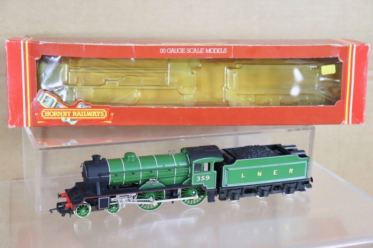 Hornby R359 Lner 4-4-0 Shire Hunt Klasse Lokomotive 359 Fitzwilliam VerVerpackungt NT