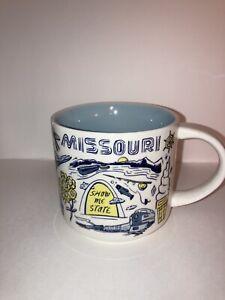 "Starbucks ""Been There"" Series MISSOURI Mug 14oz Across The Globe Collection 2018"