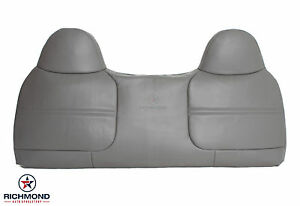 2002 Ford F250 F350 Xl Front Bench Seat Replacement Vinyl Lean Back Cover Gray Ebay