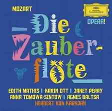 MOZART Die Zauberflote 2CD BRAND NEW Mathis Ott Perry Tomowa-Sintow Karajan