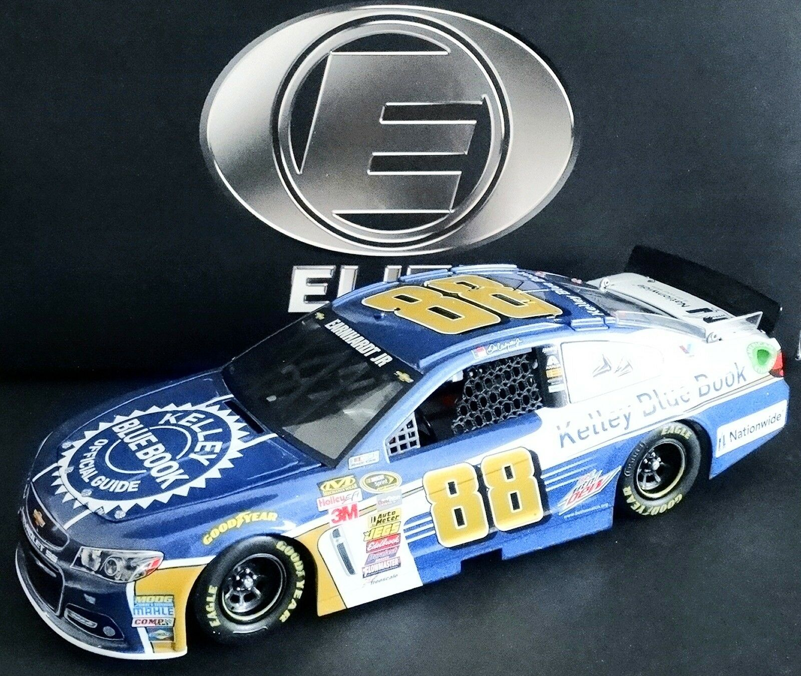 Dale Earnhardt, Jr. Kelley blu Book 1 24 Rcca Elite 2015 Chevy Ss 18 200